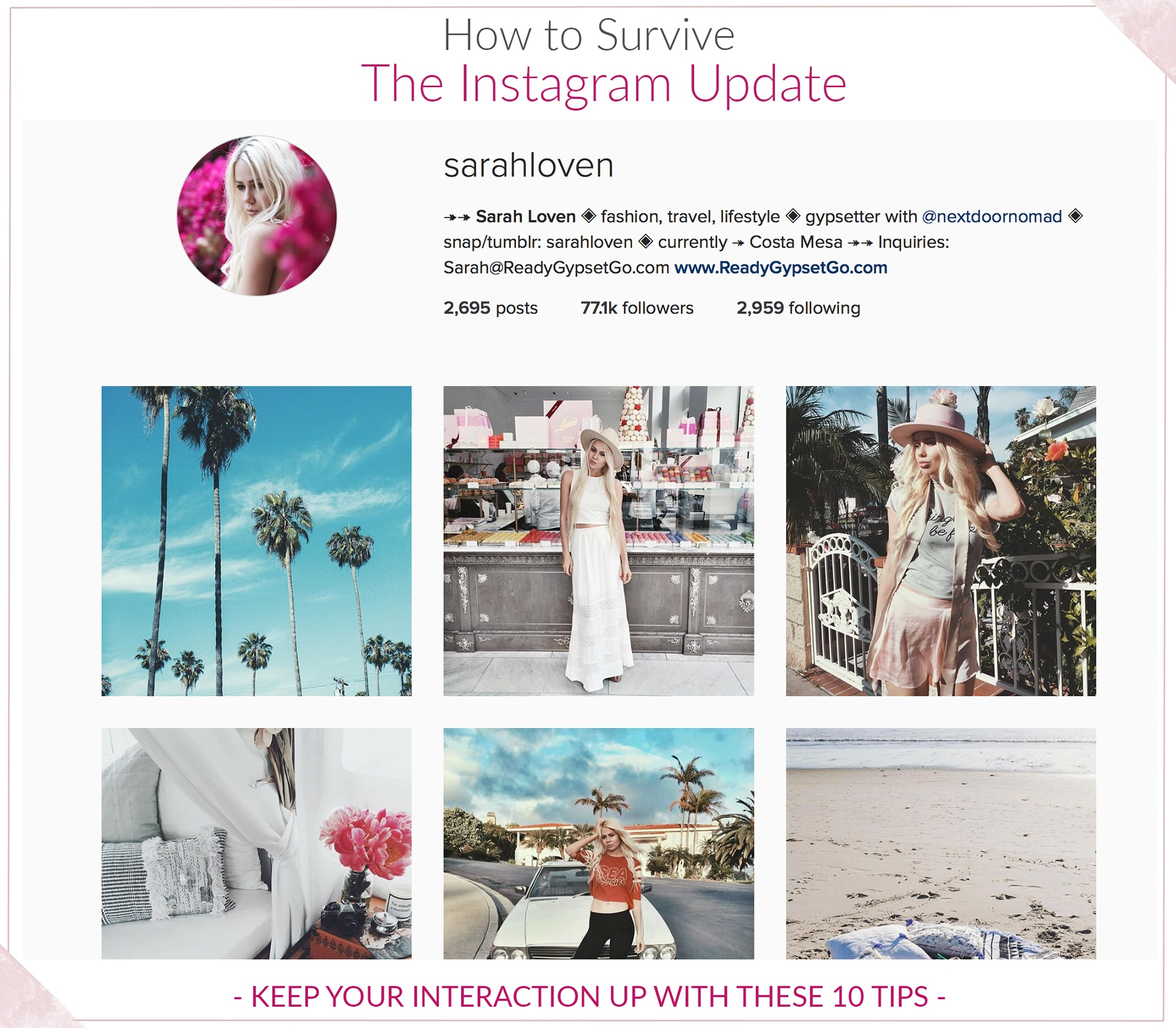 tips to boost instagram interaction