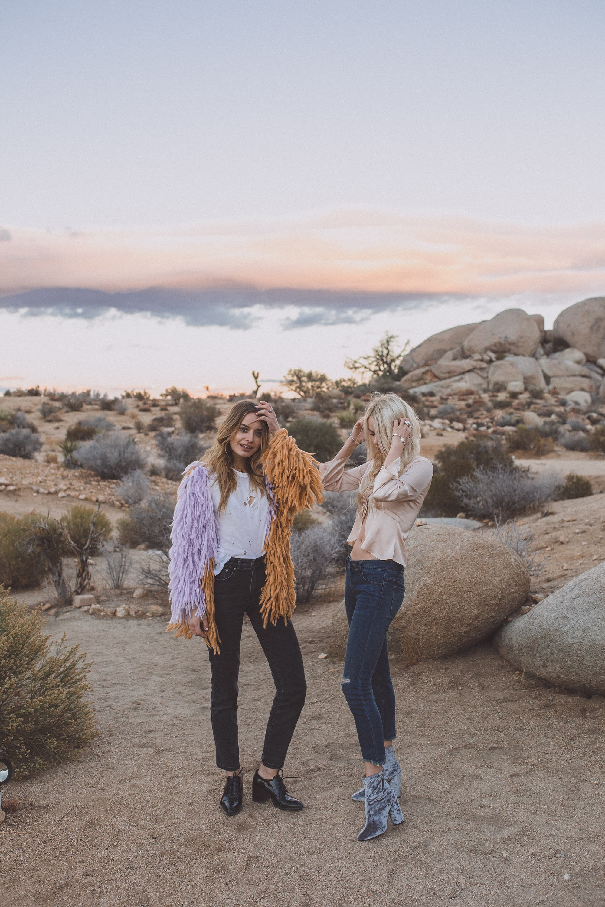 sarah loven and sonya esman in joshua tree