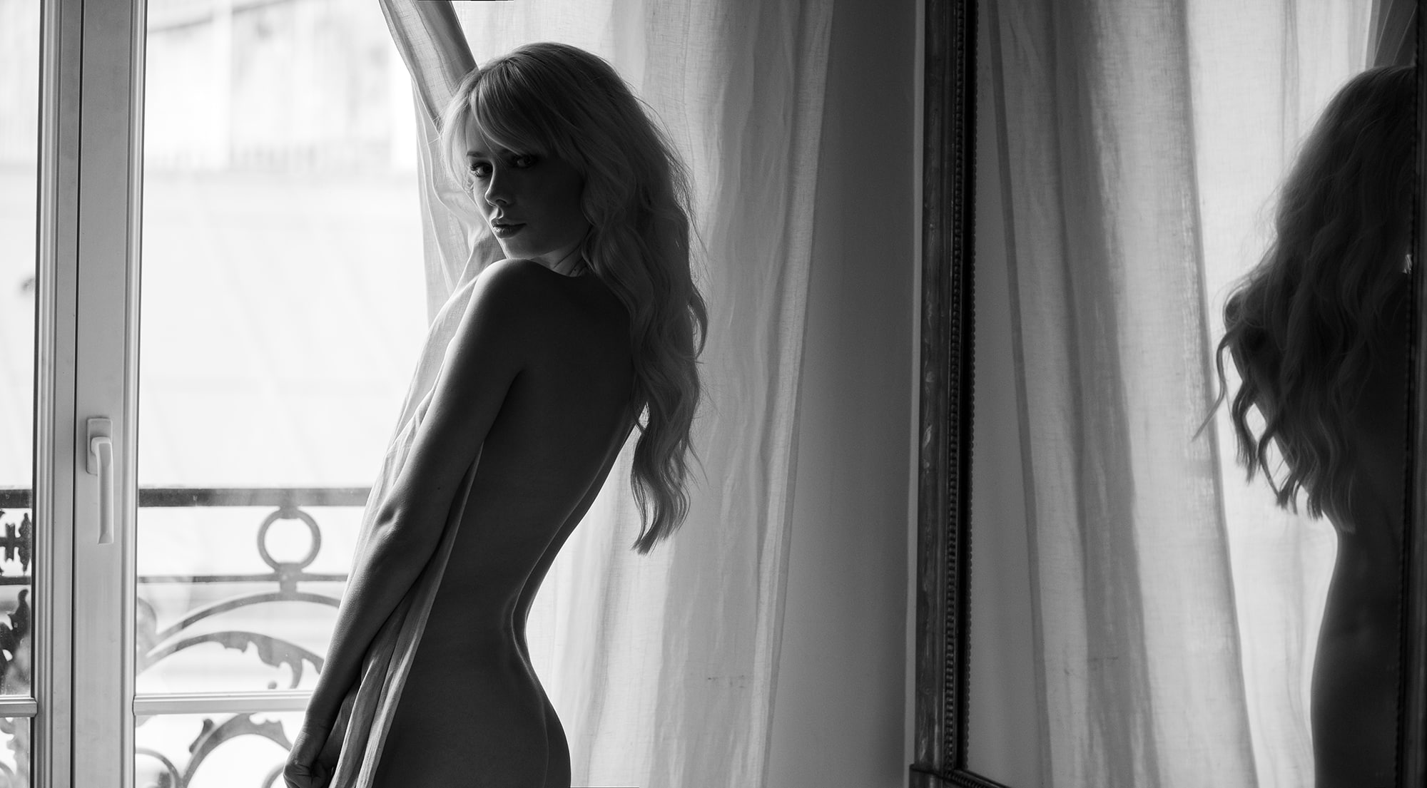 sarah loven Brigitte Bardot inspired nude photo