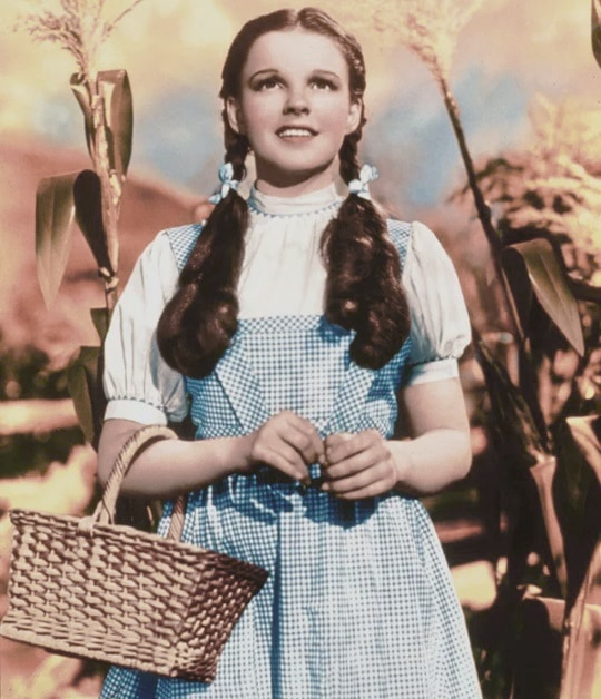 Dorothy in Gingam and Basket Bag Trend