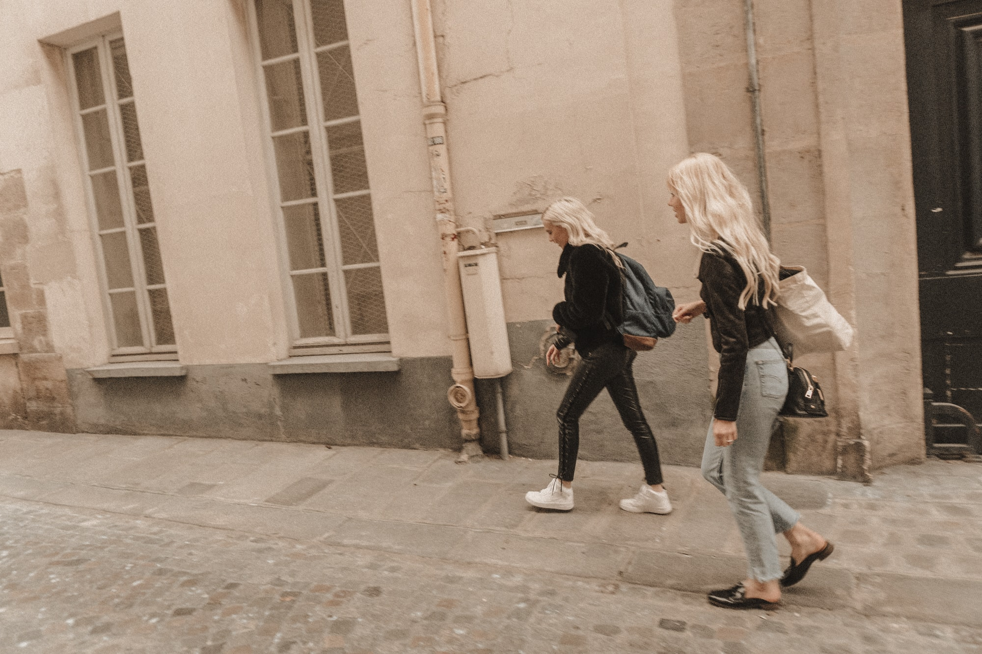 Sarah Loven and Cammy Grace shooting Brandy Melville