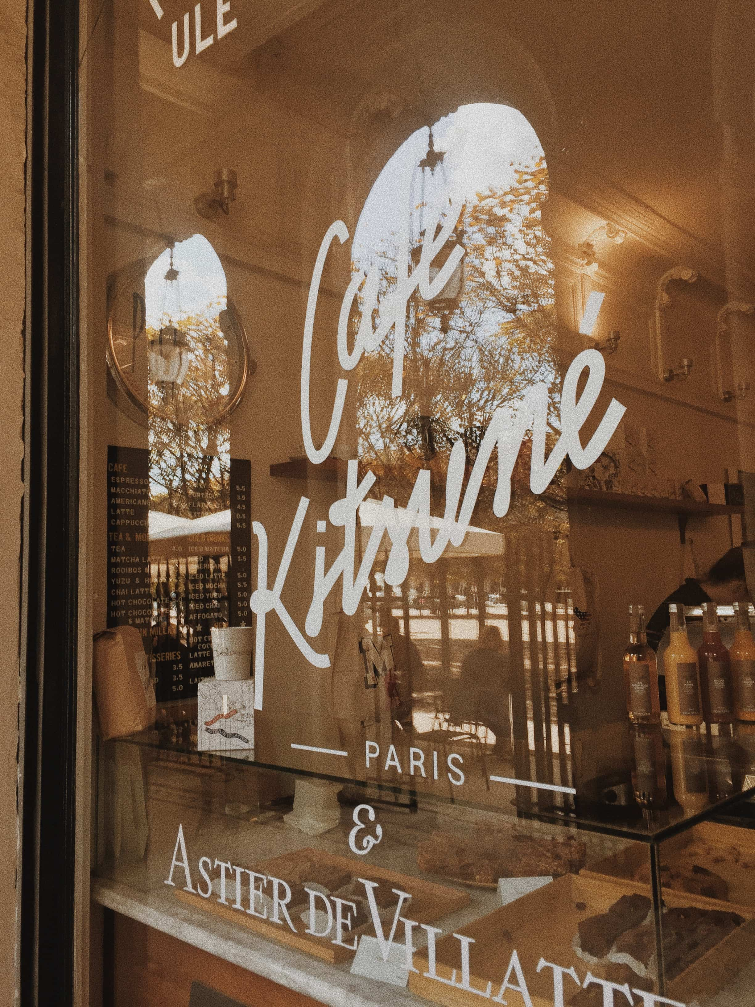 Cafe Kitsune window