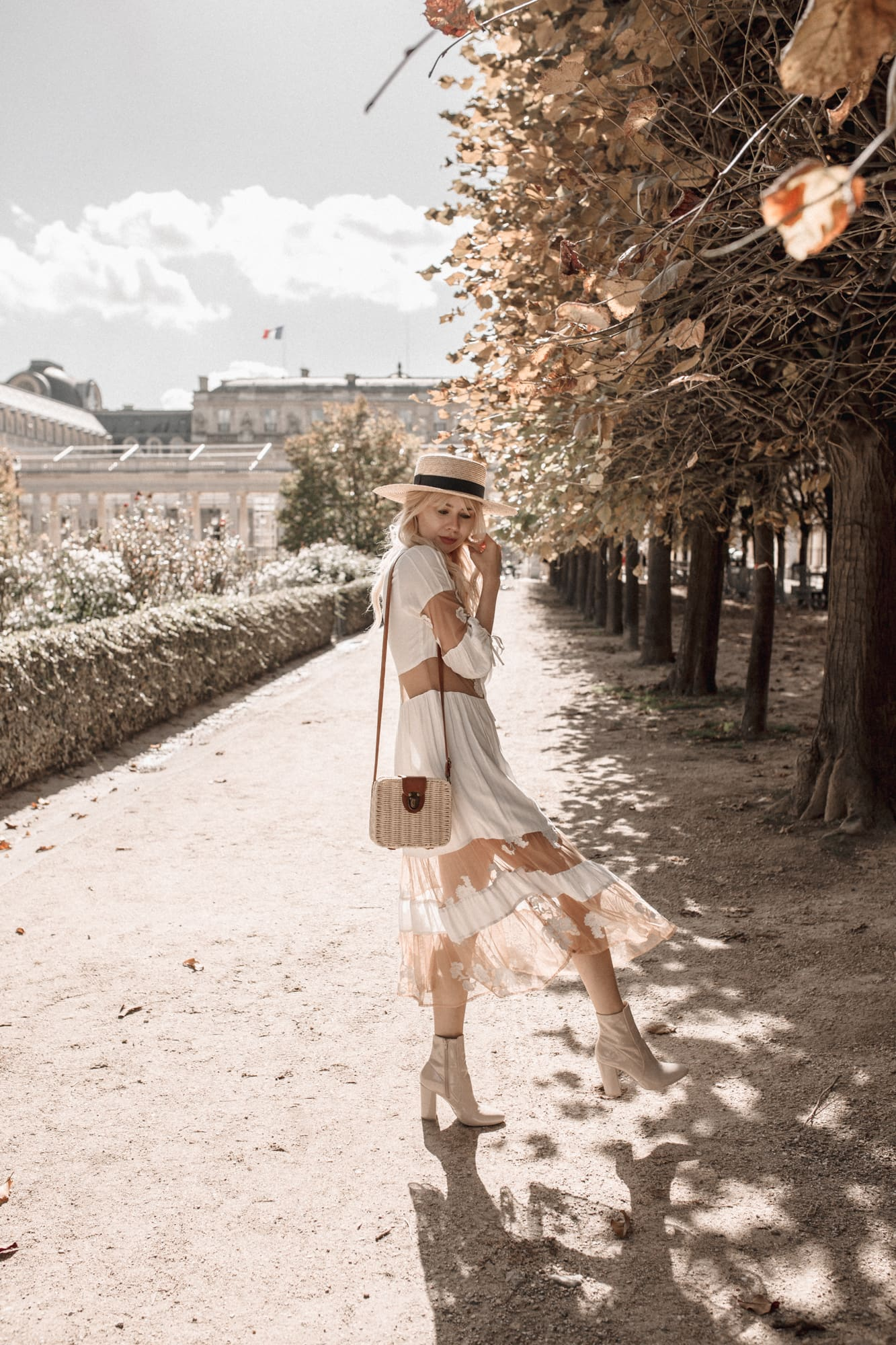 walking at Palais royal