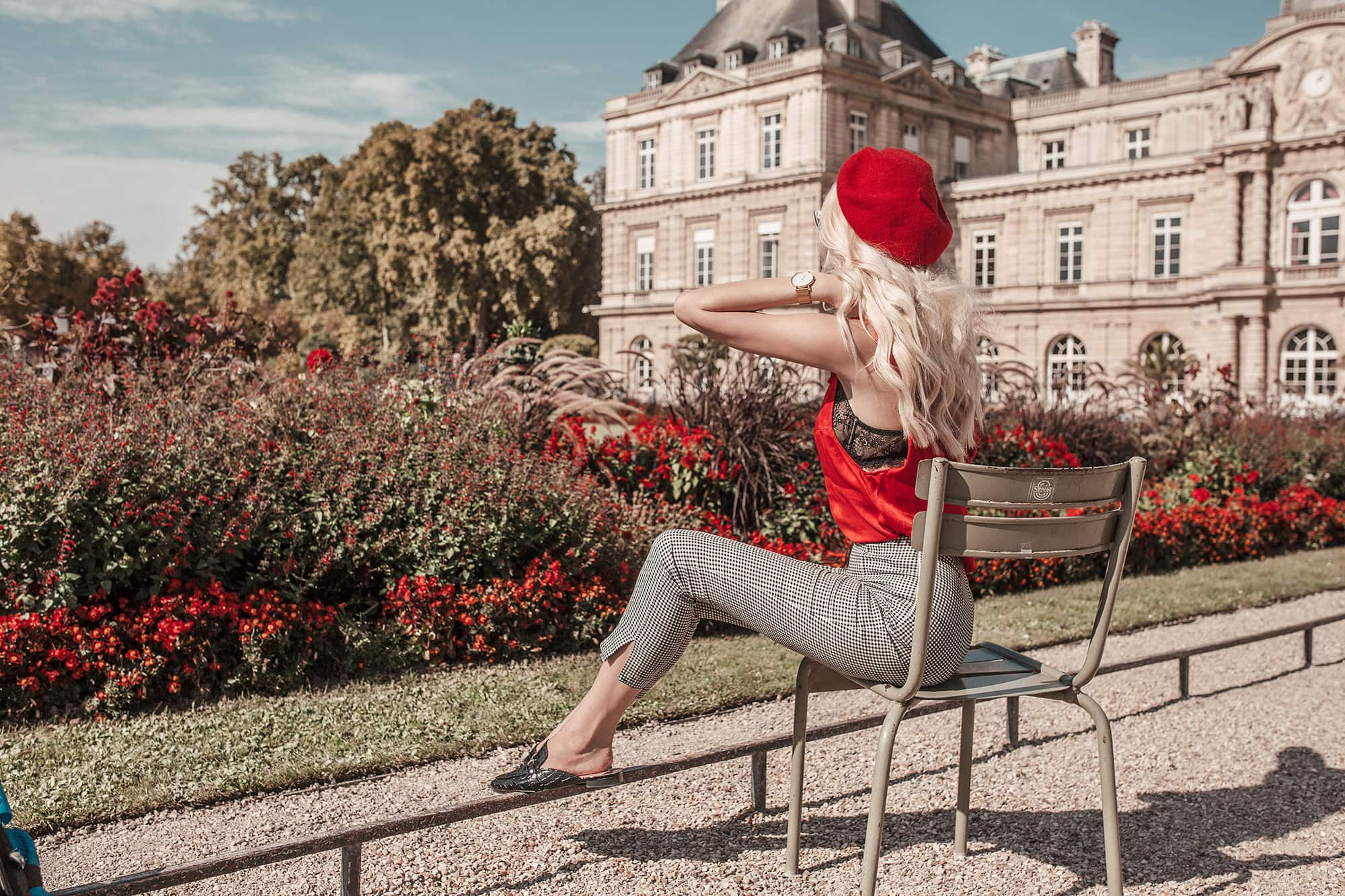 Jetset Lust at Luxembourg Gardens in Paris