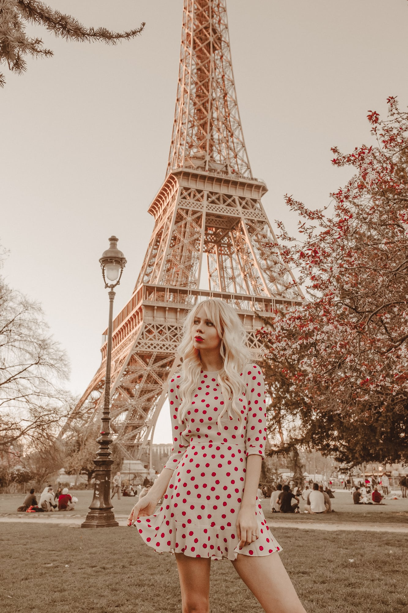 Spring at Eiffel Tower