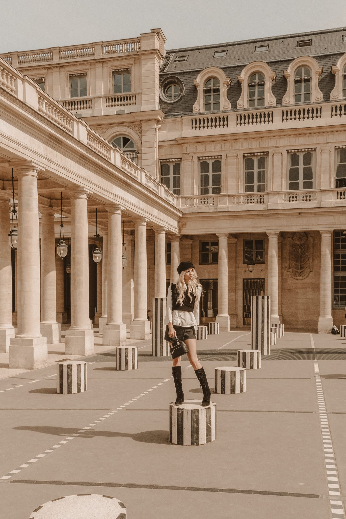 Sarah Loven at Palais Royal