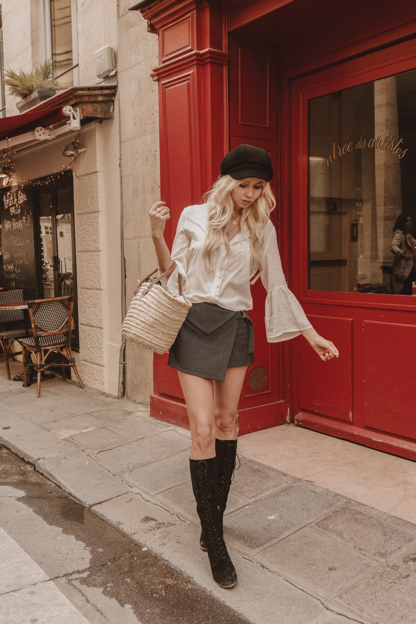 Sarah Loven, vintage style in Paris
