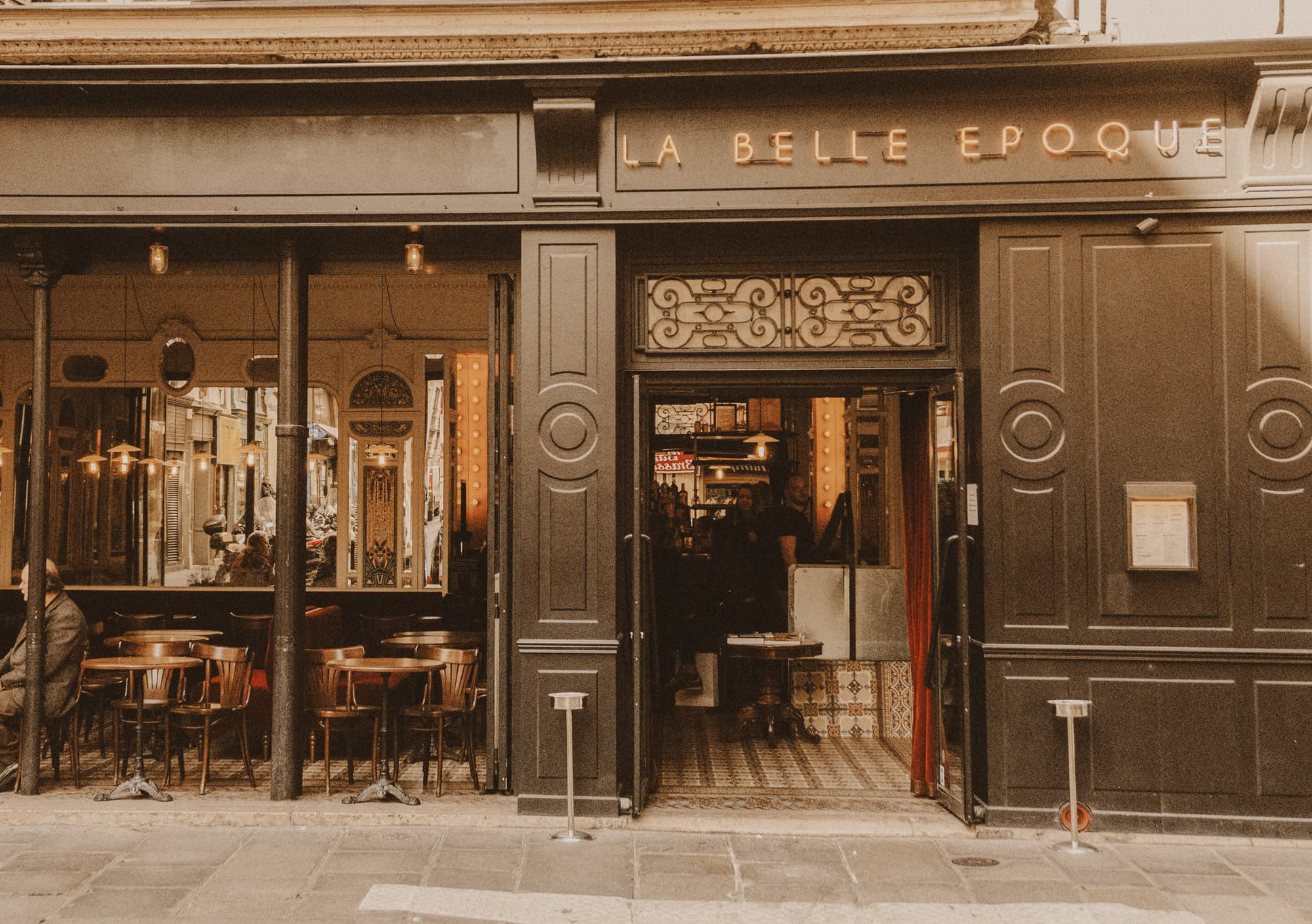 la belle époque restaurant, paris