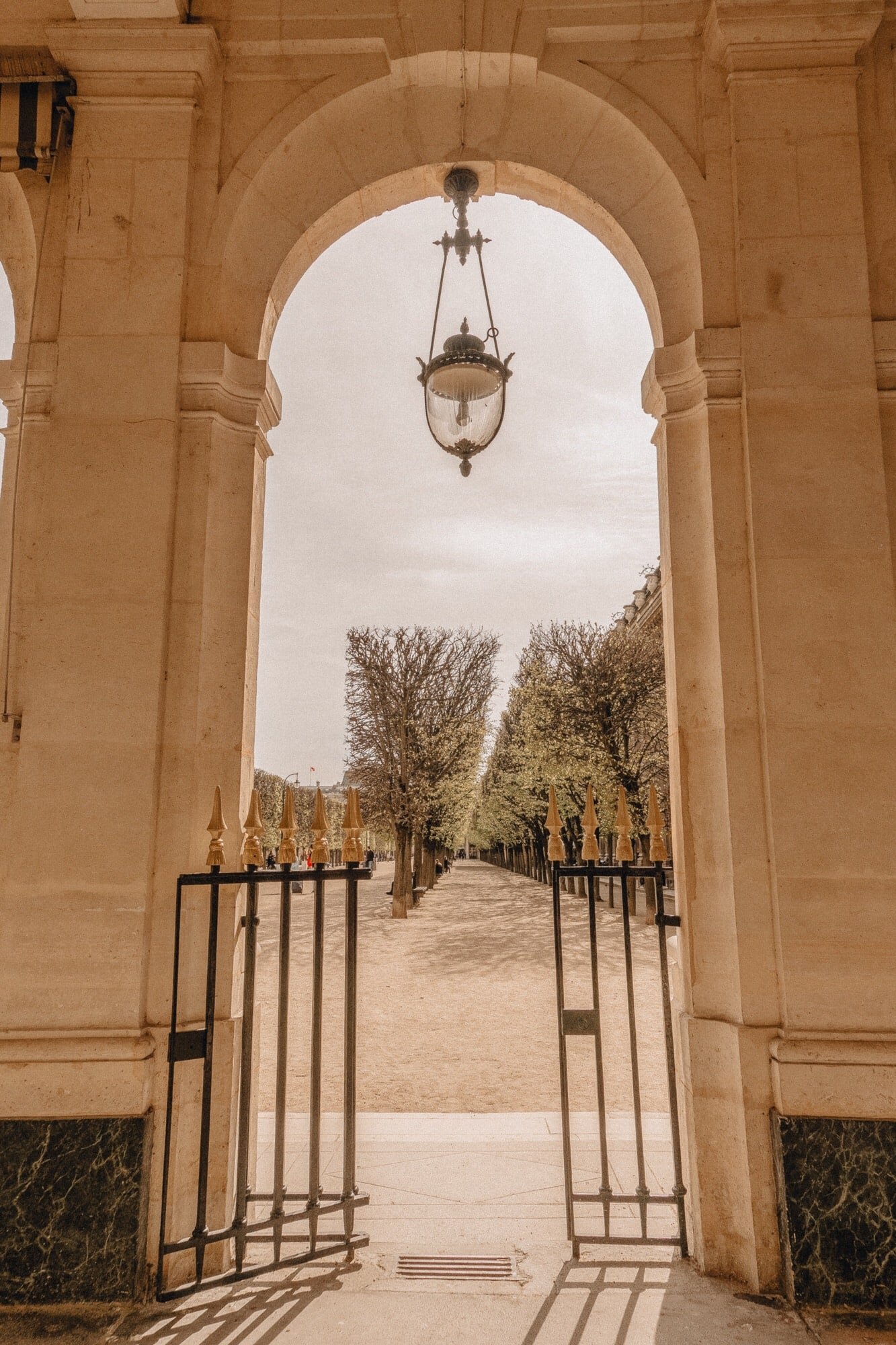 gates to Palais Royal