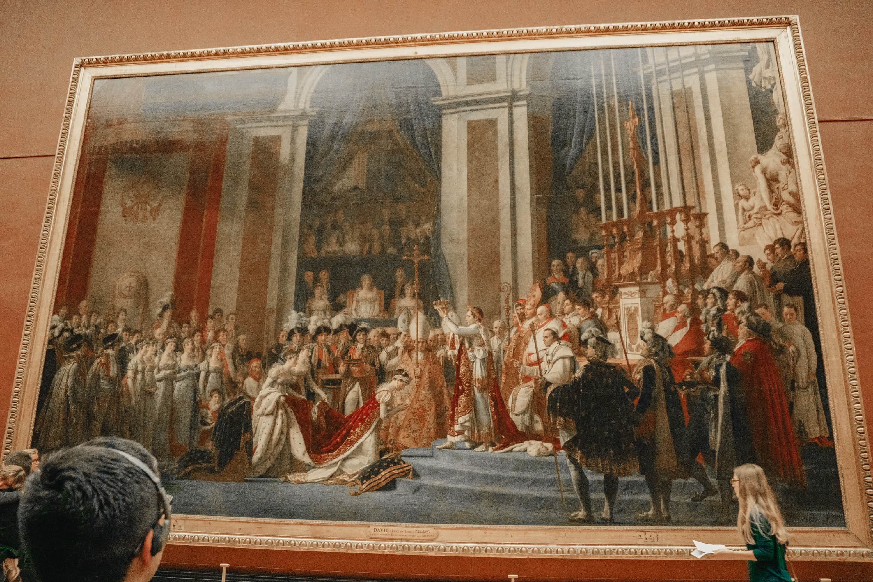 Huge painting at the Louvre